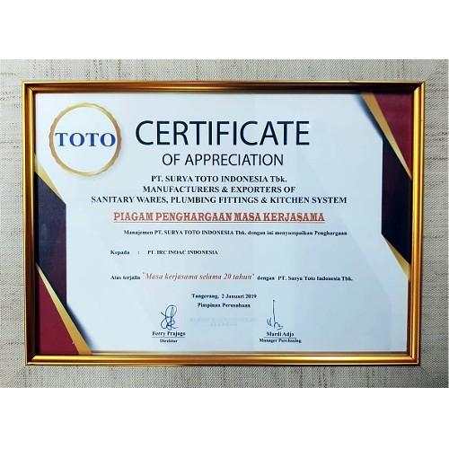 TOTO INDONESIA 2019
